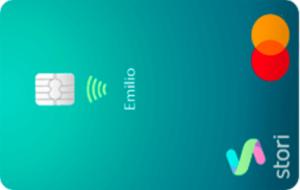 Tarjeta de Crédito Stori con garantía