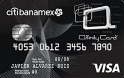 Tarjeta de Crédito Affinity Card