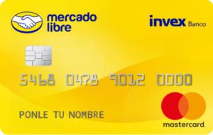 Tarjeta de Crédito Mercado Libre INVEX (Descatalogado)