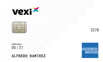 Tarjeta de Crédito Vexi American Express