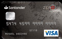 Tarjeta de Crédito Santander Zero: Conoce todos los detalles y aprende a solicitar