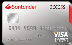 Tarjeta de Crédito Santander Access Visa: Conoce todos los detalles y aprende a solicitar