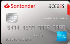 Tarjeta de Crédito Santander Access American Express: Conoce todos los detalles y aprende a solicitar