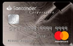Tarjeta de Crédito Santander MasterCard Corporativa: Conoce todos los detalles y aprende a solicitar