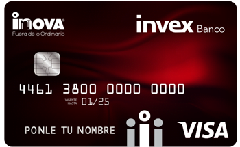 Tarjeta de Crédito INOVA INVEX: Conoce todos los detalles y aprende a solicitar
