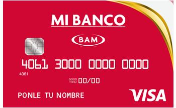 Tarjeta de Crédito Mi Banco (BAM) INVEX: Conoce todos los detalles y aprende a solicitar