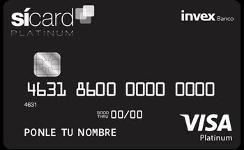 Tarjeta de Crédito SíCard Platinum INVEX: Conoce todos los detalles y aprende a solicitar