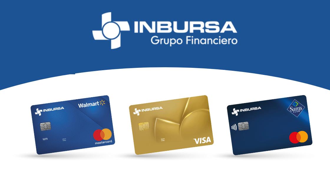 Las mejores tarjetas de crédito del Grupo Financiero Inbursa