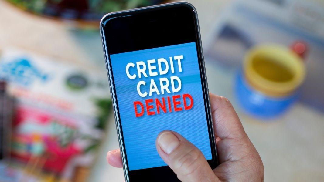 Razones por las que su solicitud de tarjeta de crédito puede ser denegada