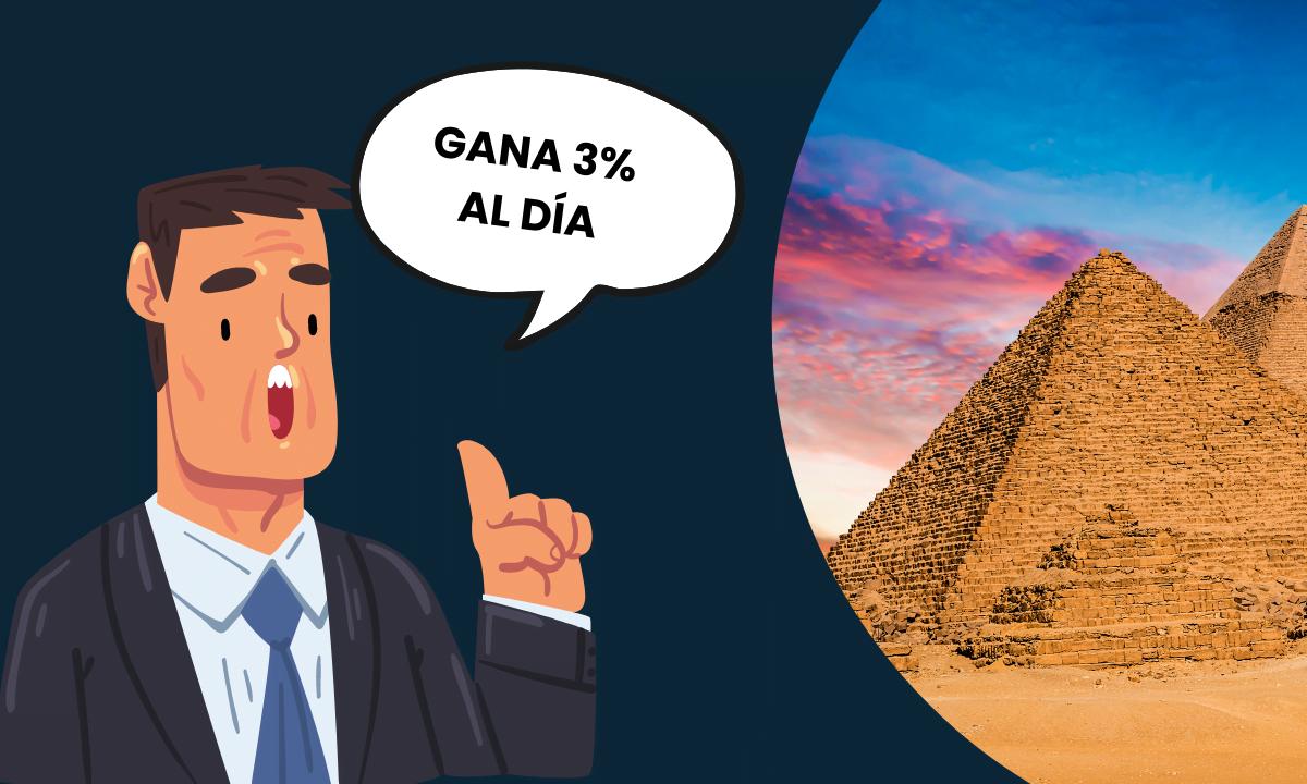 Cómo reconocer (y alejarse) de una pirámide financiera