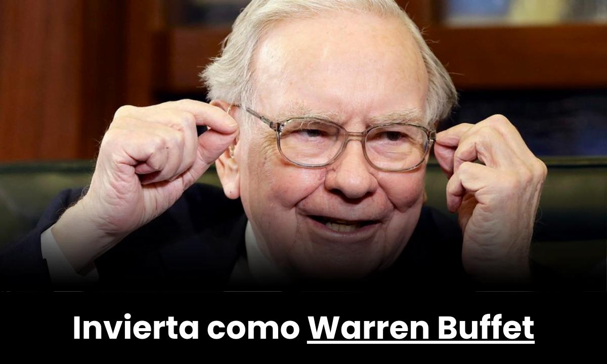 Aprenda las reglas de Warren Buffet para invertir