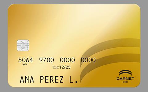 Tarjeta de Crédito Carnet Oro: Conoce todos los detalles y aprende a solicitar